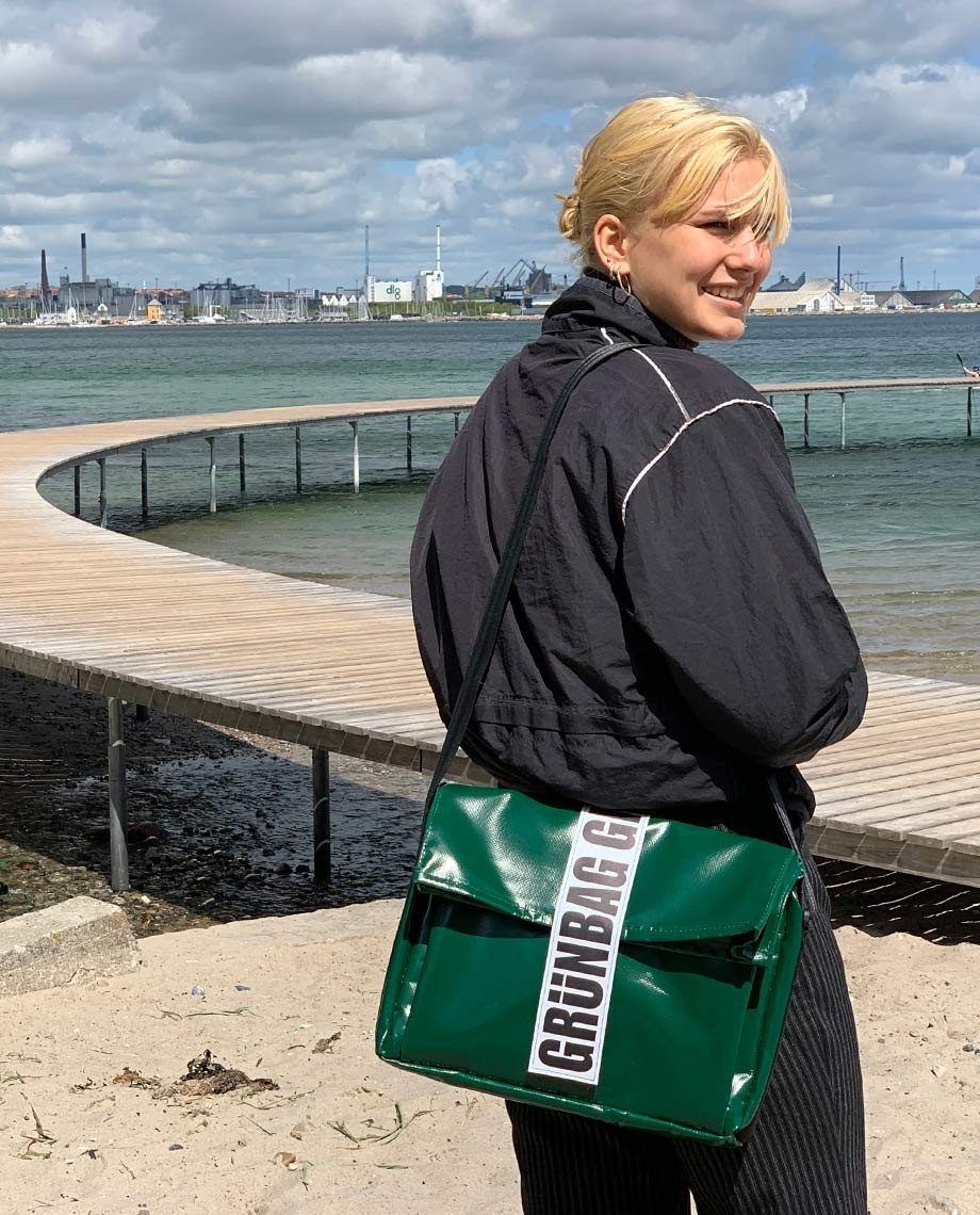 Grøn Computertaske Carry